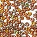 O bead パープルアイリスゴールド