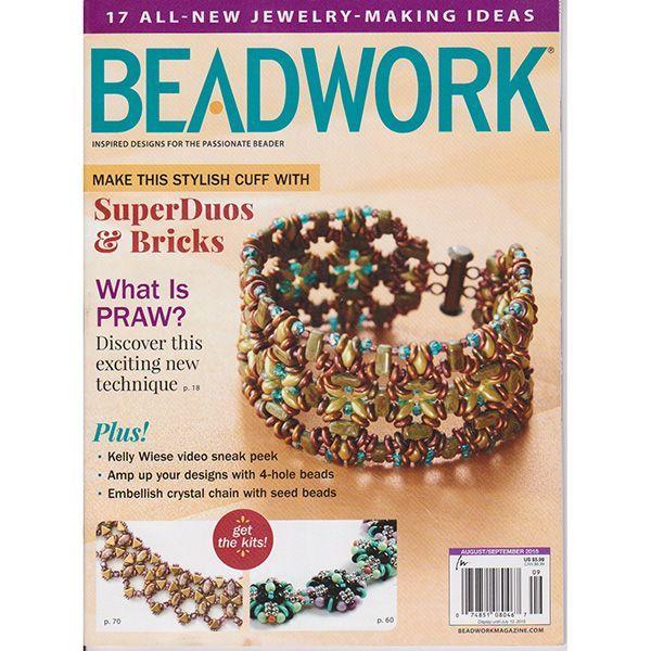 BEADWORK 2015年8月号