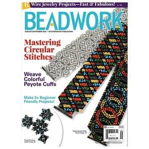 画像1: BEADWORK 2020年8月号
