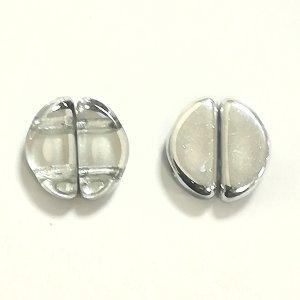 画像2: セミサークル 5x10mm クリスタルラブラドール(10/100個)