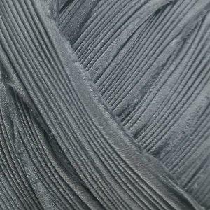 画像1: ※現品限り シルク絞りリボン ソリッドチャコール Solid Charcoal 【濃グレー単色】