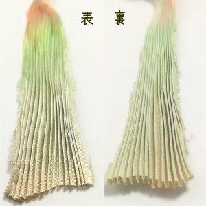 画像3: シルク絞りリボン サクレント Succulent 【地色:イエローグリーン】現品限り