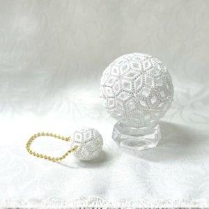 画像4: 小さいレースボール(白) by フロリッサ 西富士絵