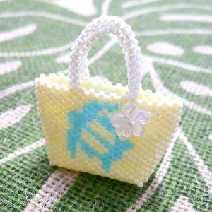 画像1: Hawaiian bag〜ホヌ〜 by しのはら みわ
