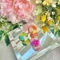 芝♡桜♡玉(ピンク、グリーン、オレンジ)by フロリッサ 西富士絵