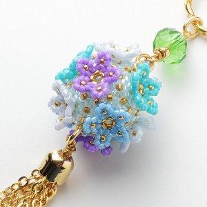 画像1: お花のくす玉 紫陽花 by フロリッサ 西富士絵