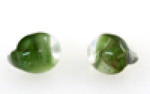 画像2: 【5粒】ティアドロップビーズ 【Emerald Eyes-V】【メーカー廃番現品限り】
