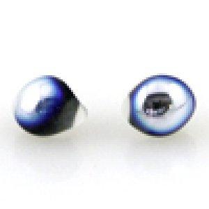 画像2: 【5粒】ティアドロップビーズ メタリック 【Black Pearl】