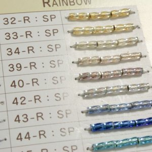 画像2: マツノ BUGLE 6mm SPIRAL SILVERLINED RAINBOW